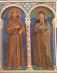 St Francis and St Clare - Giotti