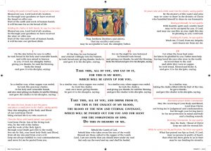 Altar Card