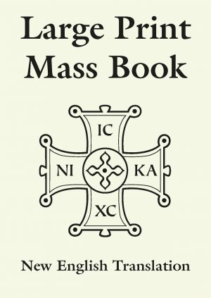 Large Print Mass Book