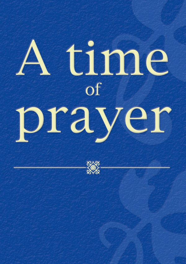 A Time of Prayer