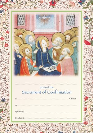 acrament of Confirmation Certificate