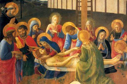 Lamentation Over Christ - Fra Angelico