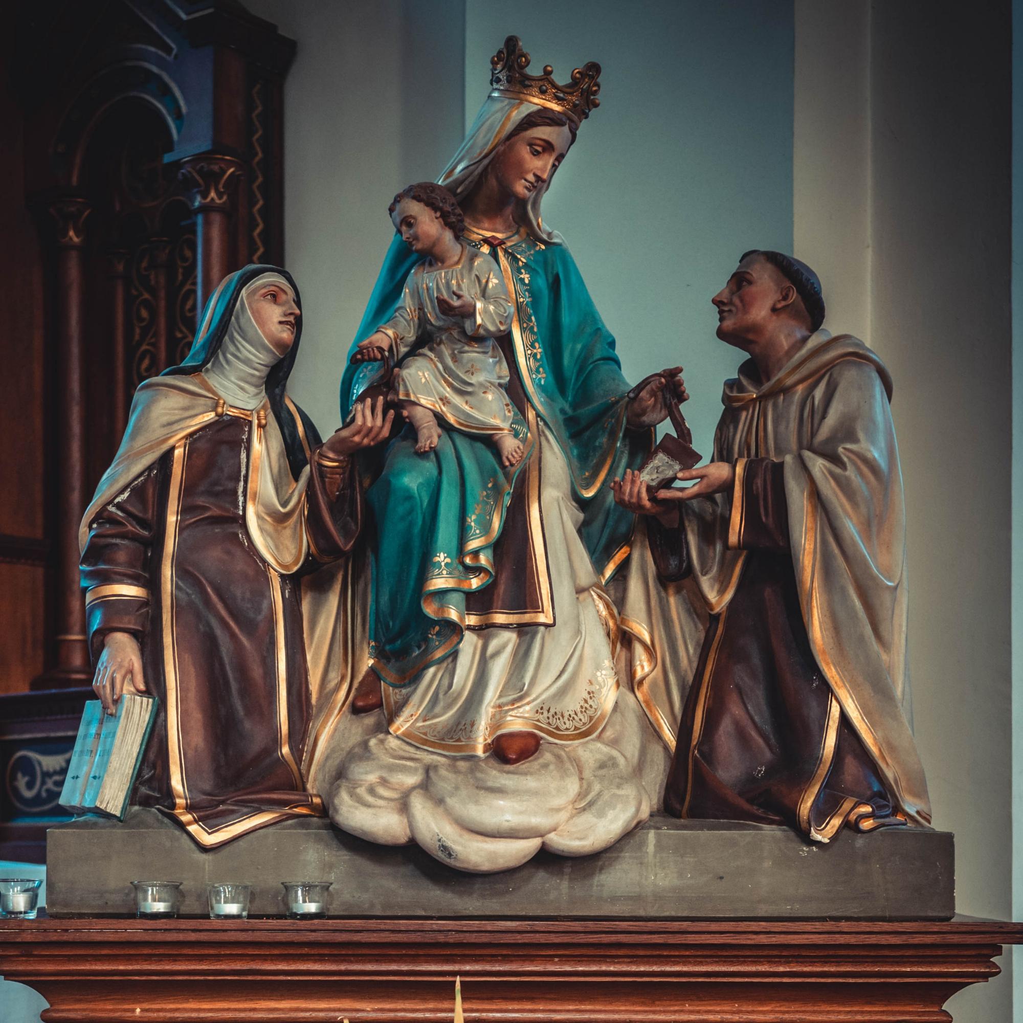 Why Do Catholics Pray to the Saints?