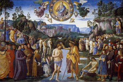 Christ's Baptism in the Jordan